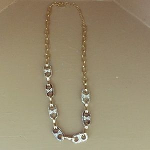 Total bling chain necklace